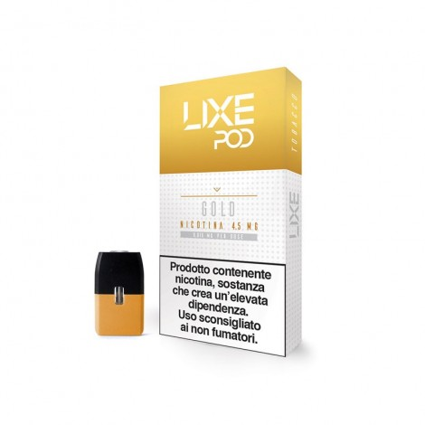 Gold - cartuccia pod tabacco tradizionale LIXE